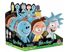 Funko Rick & Morty Box of 9 Plushies