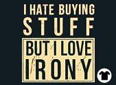 Ironic Shopper