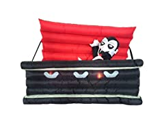 Vampire in a Coffin Light Up Halloween Inflatable