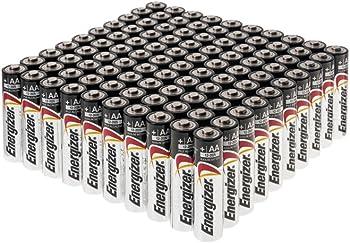 100-Count Energizer MAX AA Alkaline Batteries