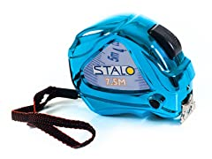 Contractor Tape Measure with LED, Blue