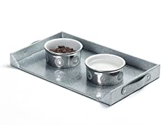 Feeding Platter - Silver