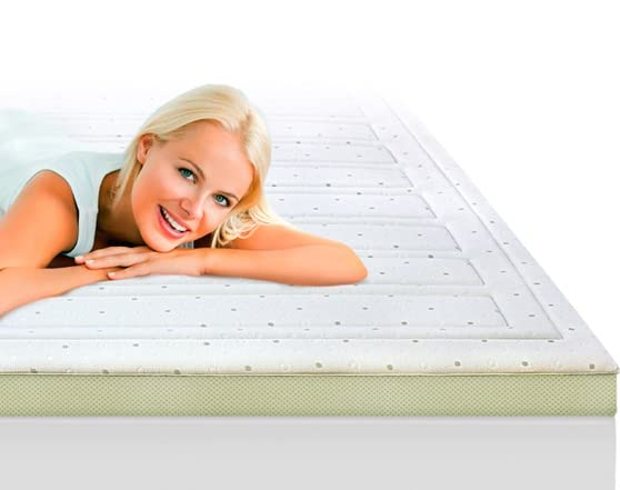 """What Is The Coolest Memory Foam Mattress SensorPedic Bounce 3"""" Topper - Home & Kitchen"""