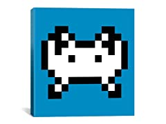 Invader Pixel Art 18x18 Thin