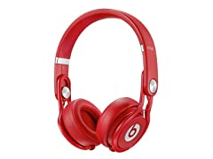 Mixr On-Ear Headphones - Red