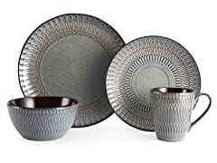 Mikasa Broadway 4-PC Dinnerware Set