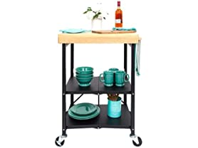 Origami Foldable Kitchen Island Cart (3 Colors)