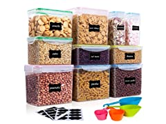 Vtopmart 10-Piece Food Storage Container Set