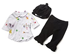 Big Dreamzzz Baby Artist 3-Piece Set