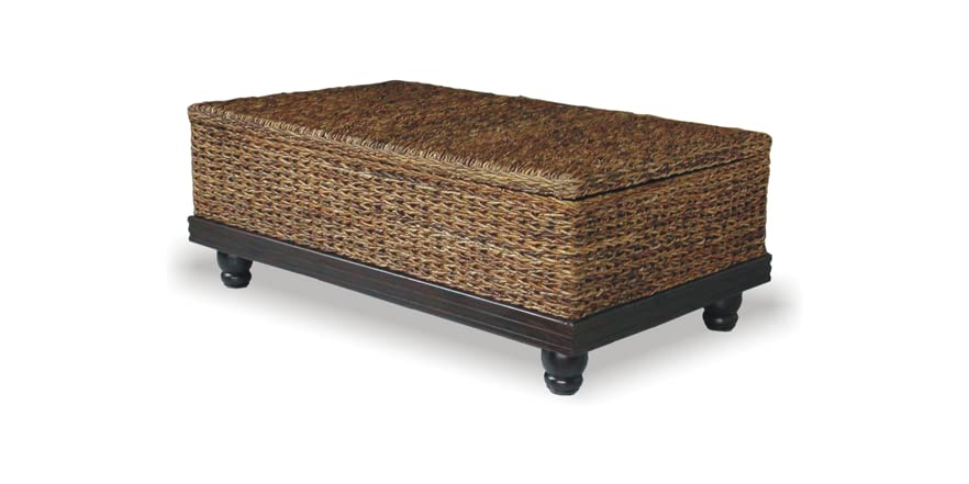 tropical coffee table abaca small. Black Bedroom Furniture Sets. Home Design Ideas