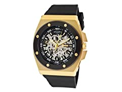 Men's Black/Gold Dial / Black Band