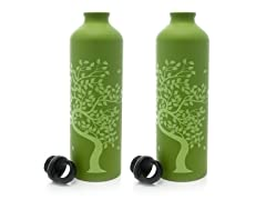 Tree of Life Aluminum Water Bottle 2-Pack