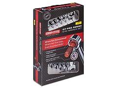 6-Piece Xtra-Long Pro SAE Wrench Set
