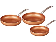 CONCORD 3 Piece Frying Pan Set