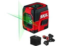SKIL 65ft. Self-Leveling Cross Line Laser Level