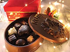 Candy Basket Chocolate 'Noel' Box