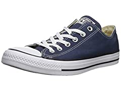 Converse Unisex All Star Low Tops, Navy