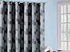 Kallista Geo Shower Curtain - 3 Colors