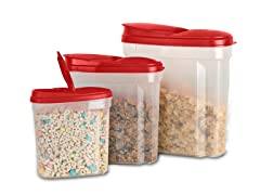 Cereal Container Set- Pick Color