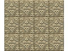 Restored Tile Brass Backsplash
