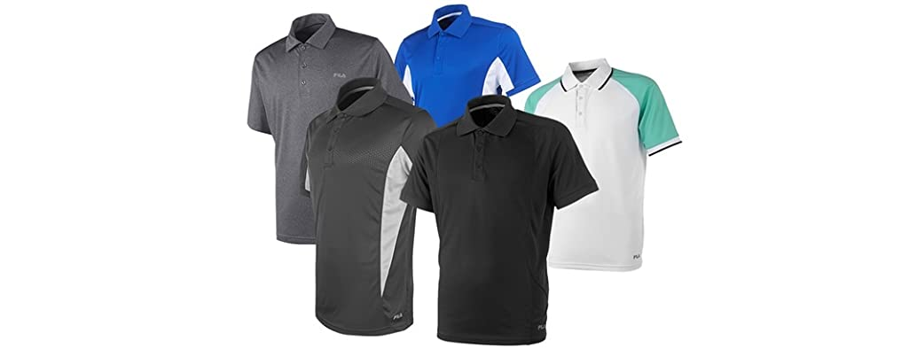 FILA Mens Polo Shirts