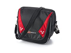 Metro Handlebar Bag - Black/Red