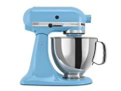 KitchenAid Artisan 5-Quart Stand Mixer, Crystal Blue