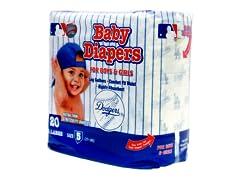 LA Dodgers Diapers (160-192ct)