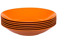 "Ella Bowl 8.25"" - Set of 6 - Orange"