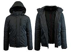 Mens Heavy Weight Tech Jacket