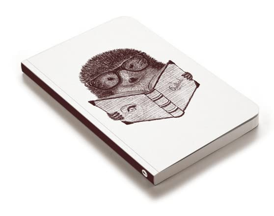 Hipster Hedgehog Journal by dreadwood