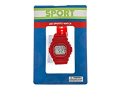 Red Youth Sport Watch