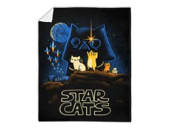"""Star Cats"" Blanket"