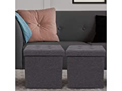 "Belardo Home 15"" Folding Ottoman"