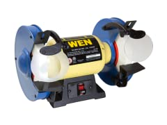 WEN 8-Inch Slow Speed Bench Grinder