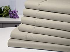 Bamboo 6-Piece Luxury Sheet Set