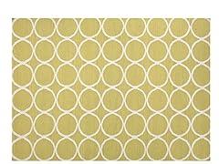 Maroc Aarya Flat Weave - Wild Lime