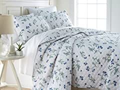 Southshore 300TC 100% Cotton Quilt Set