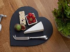Heart Cheese Board