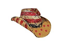 American Tea Stained Cowboy Hat