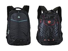 2-Pack Tech Backpacks