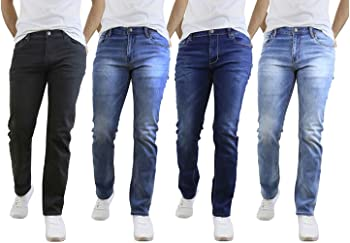 2-Pack Native Jeans Men's Stretch Denim Jeans