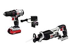 20V MAX Cordless Drill and Saw Combo Kit
