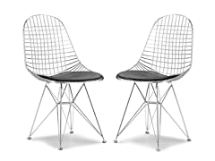 Mesh Dining Chair Set of 2