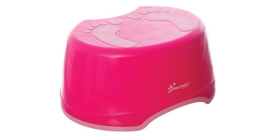 Dreambaby Pink Footprint Step Stool Kids Amp Toys