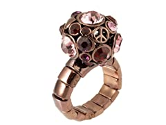 Relic RJ2025200-ONE-SIZE Brown Stretchable Ring