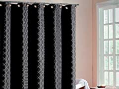 Chloe Diamond Shower Curtain-4 Colors