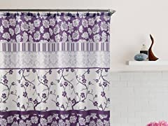 Portico Embossed Shower Curtain