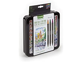 Crayola Brush & Detail Dual Tip Markers