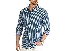 Nautica Stripe Poplin Woven Shirt XL